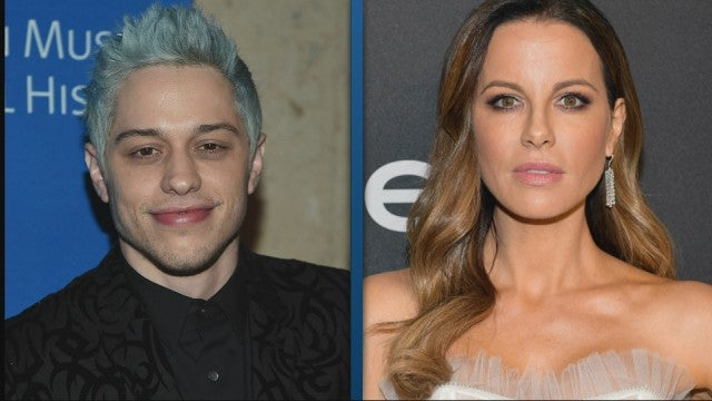 Pete Davidson and Kate Beckinsale Spotted Flirting at Golden Globes After-Party