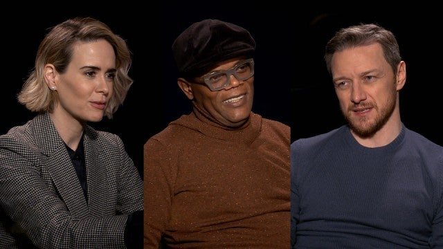 'Glass' Cast Does the '10-Year Challenge' (Exclusive)