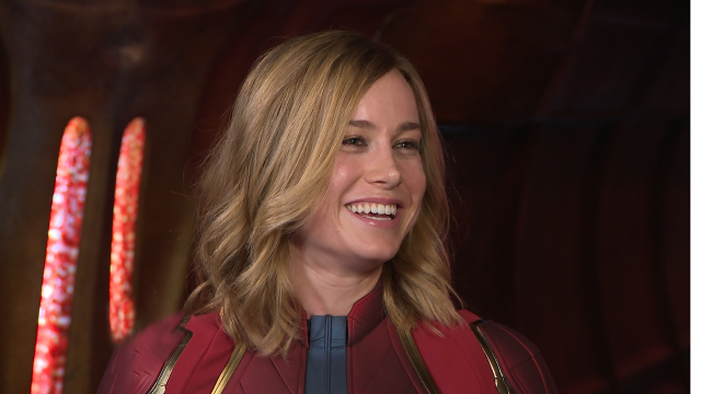 'Captain Marvel' Star Brie Larson Talks What Part of the Process Made Her Emotional