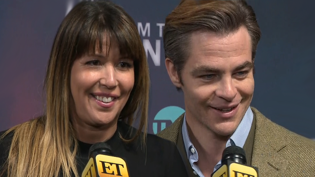 chris pine and patty jenkins interview