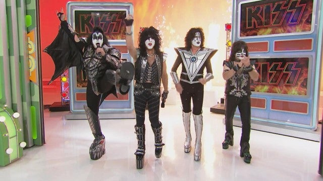 "Kiss on ""The Price is Right"""