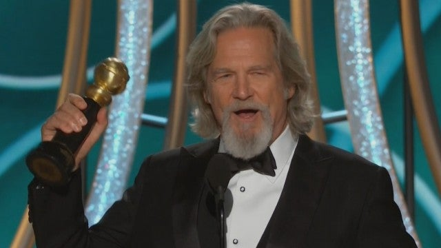 Title: Jeff Bridges Gets Nostalgic in Golden Globes Cecil B. DeMille Award Acceptance Speech