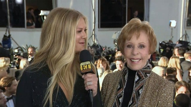 Carol Burnett Says She Was 'Gobsmacked' Over Inaugural Golden Globe Award (Exclusive)