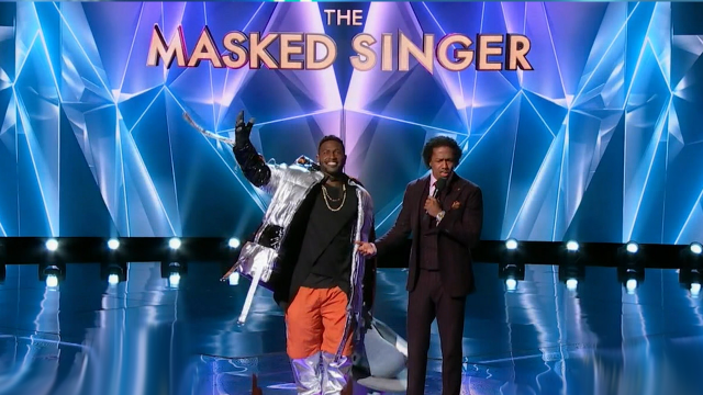 Antonio Brown on the Masked Singer