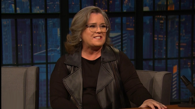 Rosie O'Donnell on Late Night with Seth Meyers