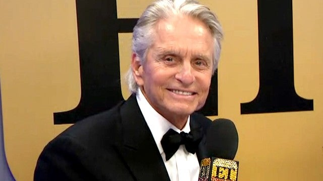 Michael Douglas on His Family's Sweet (Yet Funny) Reactions to Golden Globes Win