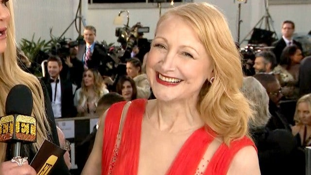 Patricia Clarkson 'Feels Like J.Lo' in Her Sexy Red Gown at 2019 Golden Globes (Exclusive)