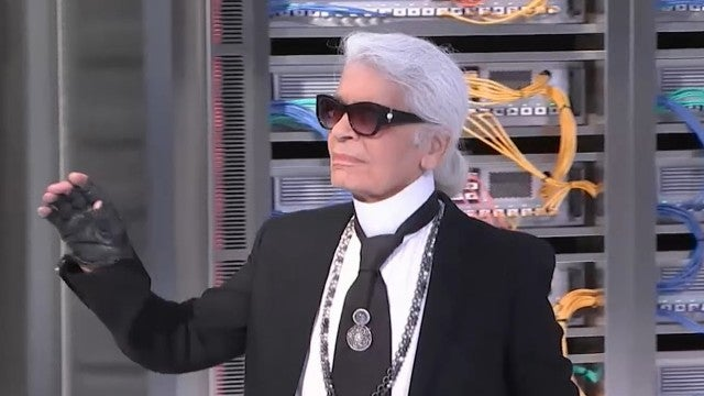 Karl Lagerfeld Dead at 85: Kim Kardashian, Gigi Hadid and More Stars React
