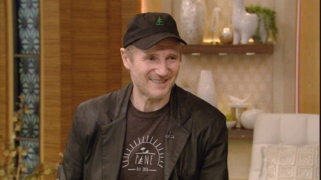 Liam Neeson Talks Controversial Revenge Story on 'Live With Kelly and Ryan'