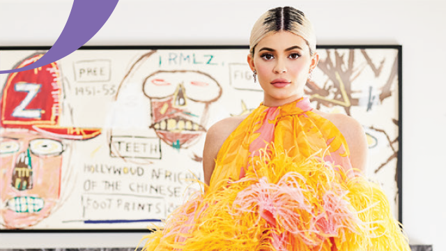Kylie Jenner on the cover of 'Architectural Digest.'