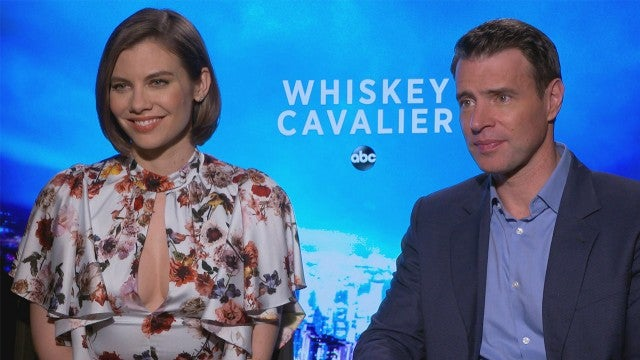 Scott Foley and Lauren Cohan Talk On Screen Chemistry in 'Whiskey Cavalier' (Exclusive)