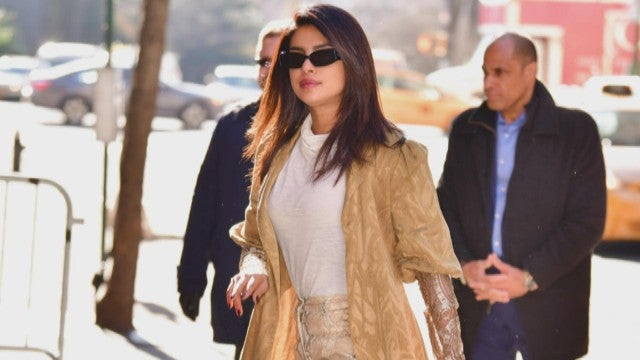 Get the Look! Priyanka Chopra's Python Printed Pants