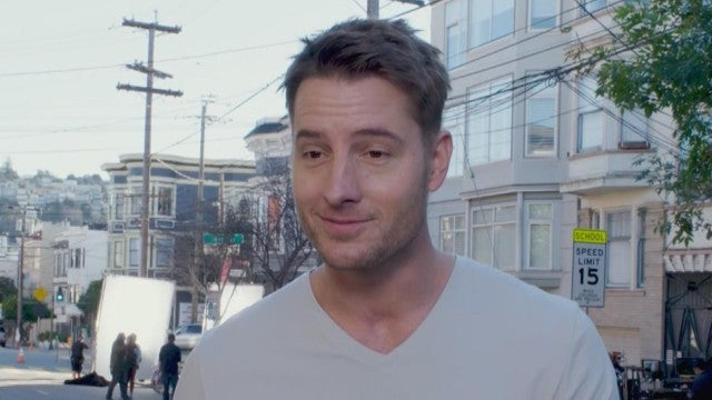 Justin Hartley and Adam Devine Dish on New Comedy 'Lexi' (Exclusive)