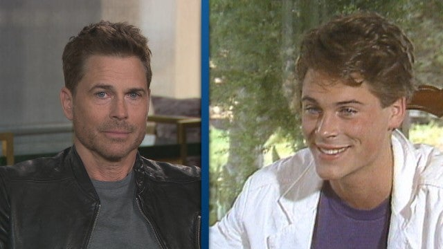 Rob Lowe Turns 55: Watch as He Reacts to His First ET Interview! (Exclusive)