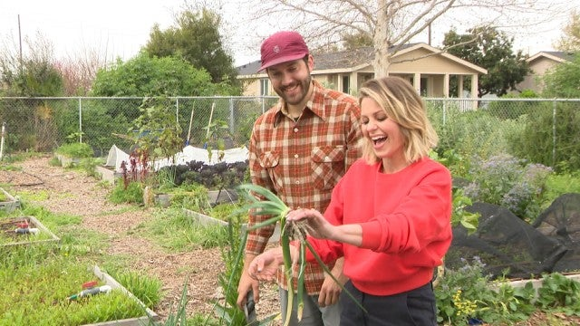 Watch Candace Cameron Bure Give Back Through Gardening at Salvation Army's Bell Shelter (Exclusive)