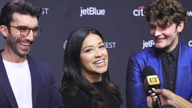 Brett Dier's Jane the Virgin Co-Stars React to Him Being Proposed to by Haley Lu Richardson