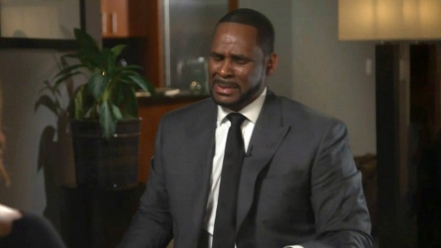 R. Kelly Breaks Down While Denying Sexual Abuse Allegations