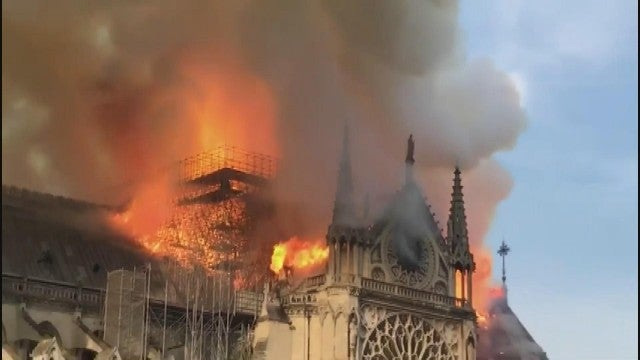 Notre Dame Cathedral Paris Fire: Celebrities React to the Heartbreaking News