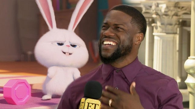 Kevin Hart on Hilarious Moment Handling Bunny While Promoting 'Secret Life of Pets 2' (Exclusive)