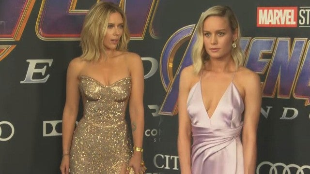 'Avengers: Endgame' Premiere Fashion! Details on ScarJo and Brie's Thanos Jewelry Tributes