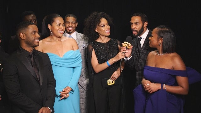 NAACP Image Awards 2019: Omari Hardwick and 'Power' Cast and Crew Backstage (Exclusive)