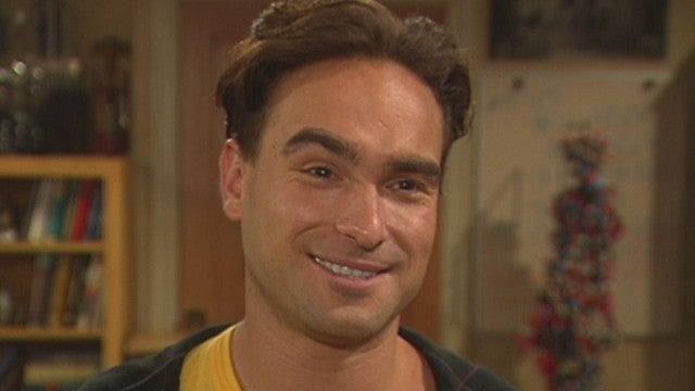 Watch Johnny Galecki's First 'Big Bang Theory' Interview