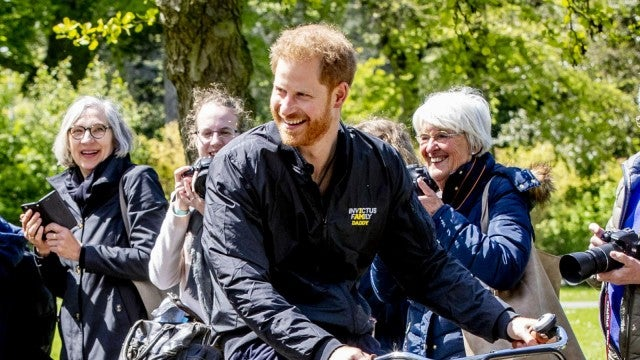 Prince Harry Rocks 'I Am Daddy' Jacket at 2020 Invictus Games Launch in the Netherlands