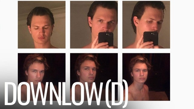 Ansel Elgort Posted 17 Shirtless Selfies and Fans Are Confused  | The Downlow(d)