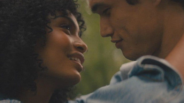 Yara Shahidi and Charles Melton on Set of 'The Sun Is Also a Star' (Exclusive)