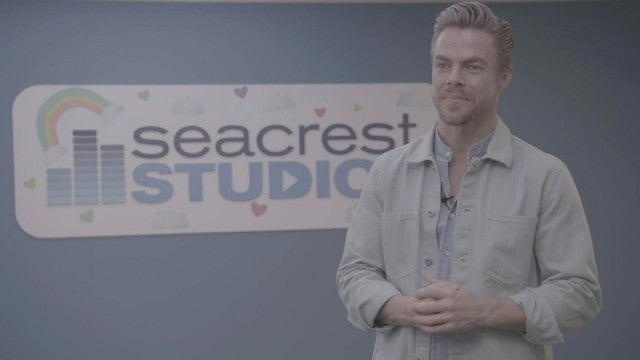 Derek Hough Talks Becoming a Future Dad While Hanging With Kids at a Children's Hospital (Exclusive)
