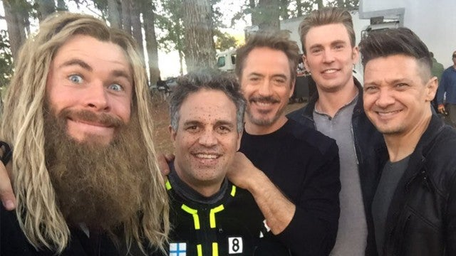 'Avengers: Endgame' Cast Shares Epic Behind-the-Scenes Footage