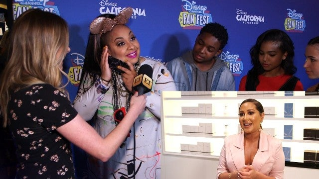 Watch Raven-Symone React to Sweet Message From 'Cheetah Girls' Co-Star Adrienne Houghton (Exclusive)