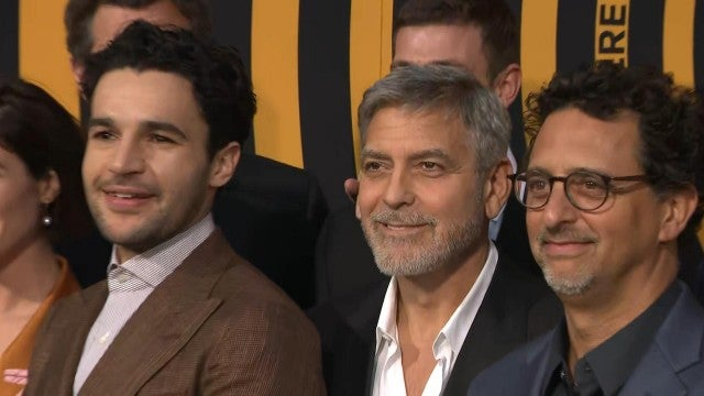 George Clooney and Christopher Abbott