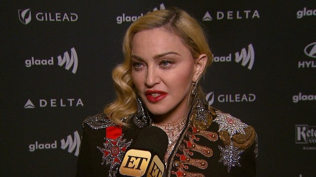 Madonna on Being First Woman to Receive Advocate for Change Accolade at GLAAD Awards (Exclusive)