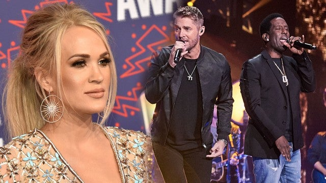 Carrie Underwood and Brett Young