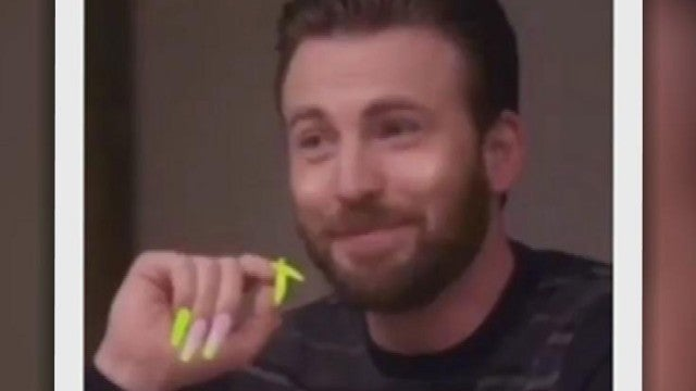 Chris Evans's Reaction to the Acrylic Nails Meme Is All Of Us!