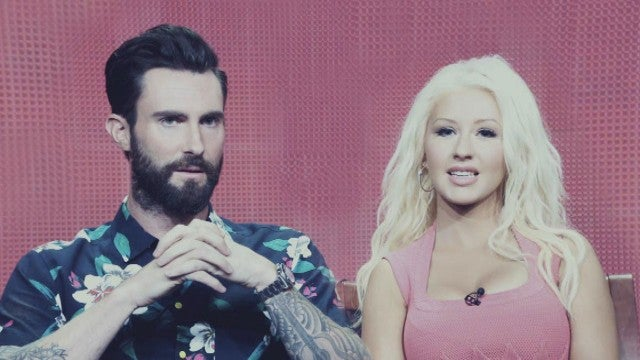 Christina Aguilera Weighs in on Adam Levine's Surprise 'Voice' Departure (Exclusive)