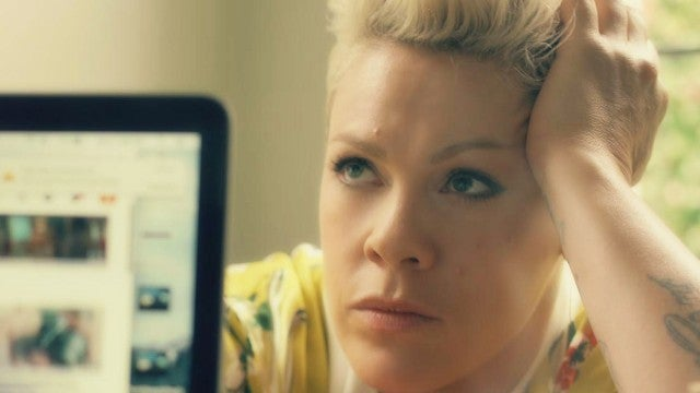 Pink Drops Emotional Music Video About Relationship With Carey Hart