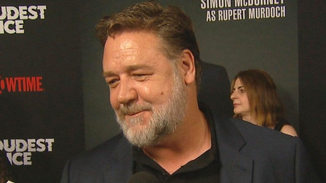 Russell Crowe on His 6-Hour Transformation Into Roger Ailes (Exclusive)