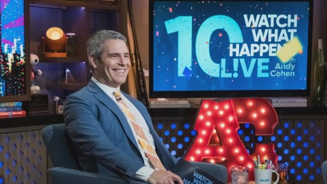Why Andy Cohen Says 'WWHL' Has Been the Best 10-Year-Long Hangover (Exclusive)