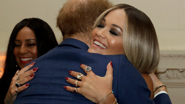 Prince Harry Shares a Hug With Rita Ora After the Pals Reunite at Sentebale Concert: Pics!
