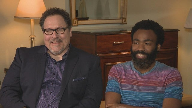 Donald Glover and Jon Favreau on 'The Lion King' (Full Interview)