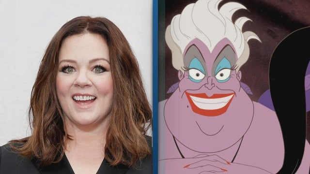 Watch Melissa McCarthy Hilariously Address Ursula Casting Rumors