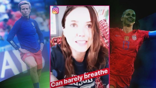 Celebs React to the Women's World Cup!