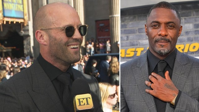 Jason Statham on Why Idris Elba Is 'One of the Best Bad Guys' (Exclusive)
