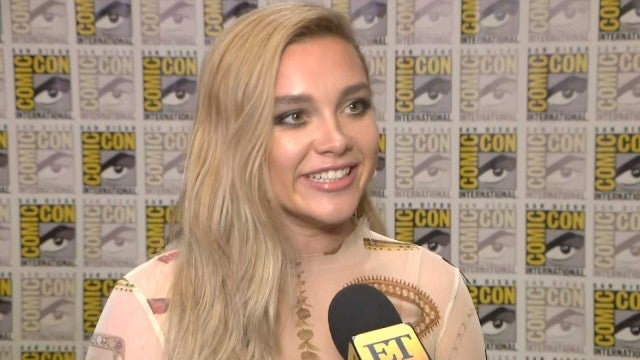 'Black Widow's Florence Pugh Reveals Character's 'Love-Hate' Relationship With Natasha