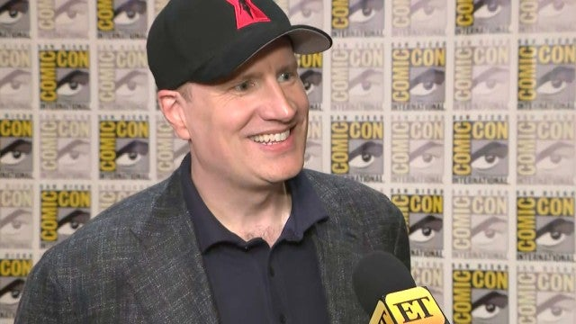 Kevin Feige Talks Natalie Portman as Female 'Thor' | Comic-Con 2019