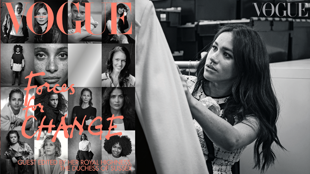 Meghan Markle Guest Edits British 'Vogue's September Issue: Everything You Need to Know!
