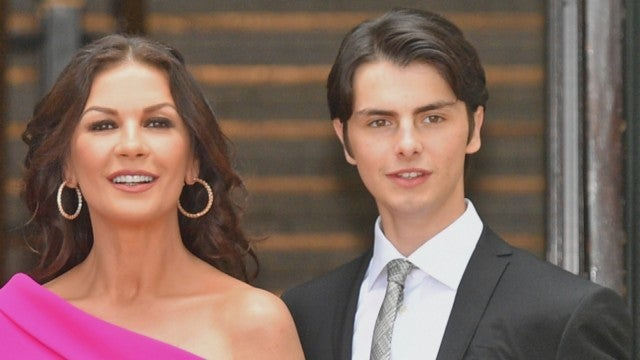 See Catherine Zeta-Jones and Michael Douglas' Son Dylan All Grown Up