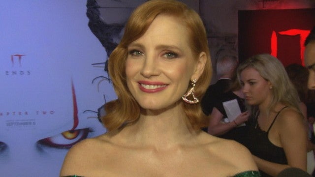 'IT Chapter Two': Jessica Chastain on Clowns, Sophia Lillis & Screams